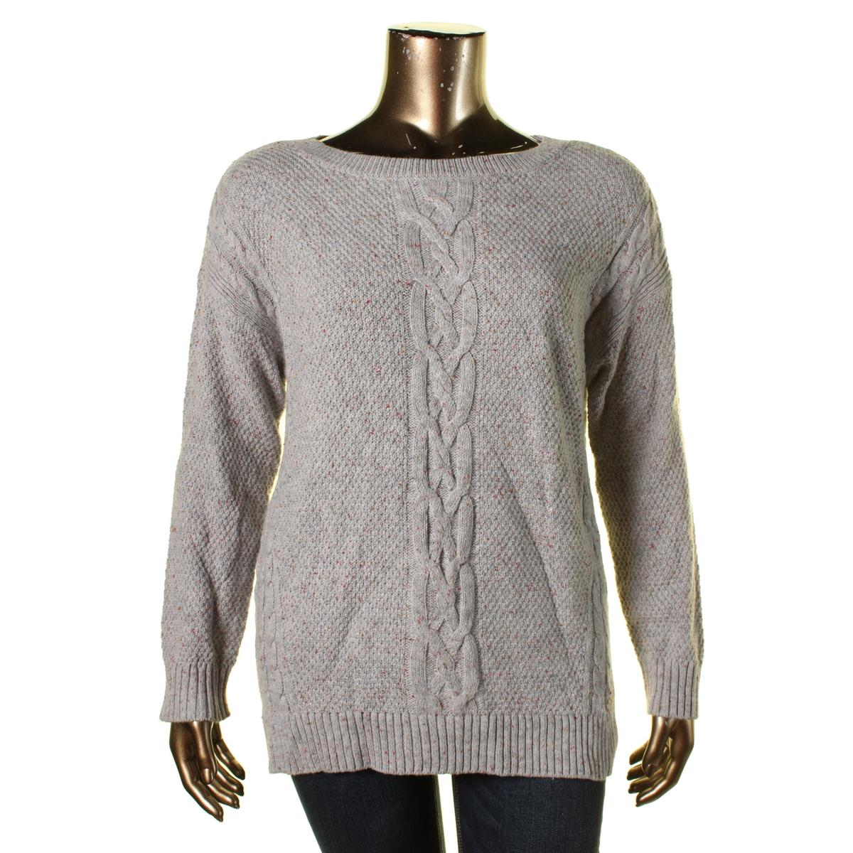 Cable Knit Crew Sweater 57