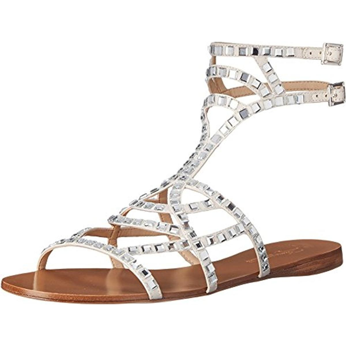 Vince Camuto 7108 Womens Ryan Ankle Strap Studded
