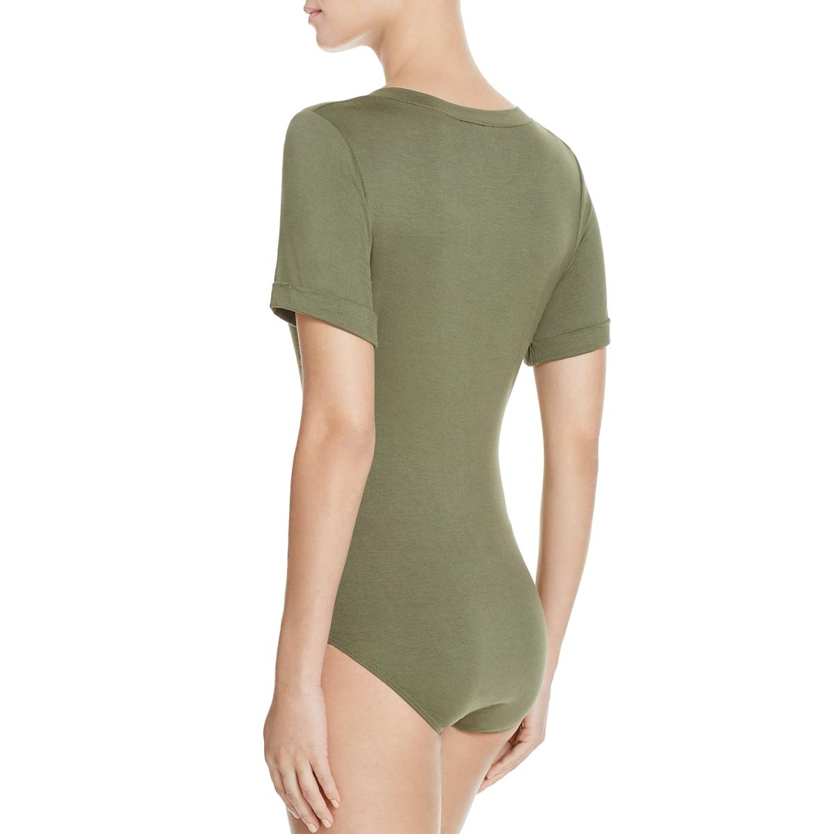 Intimately-Free-People-Womens-Me-Oh-My-Leotard-Everyday-Bodysuit-Top-BHFO-6880