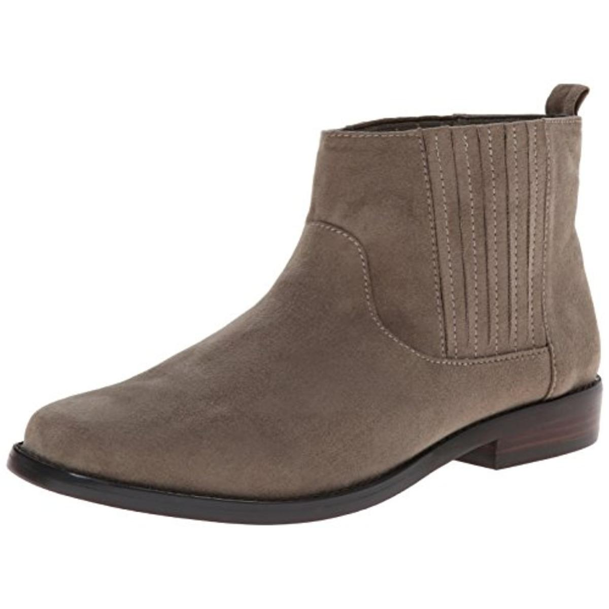 g h bass co 7804 womens blaine gray ankle boots shoes