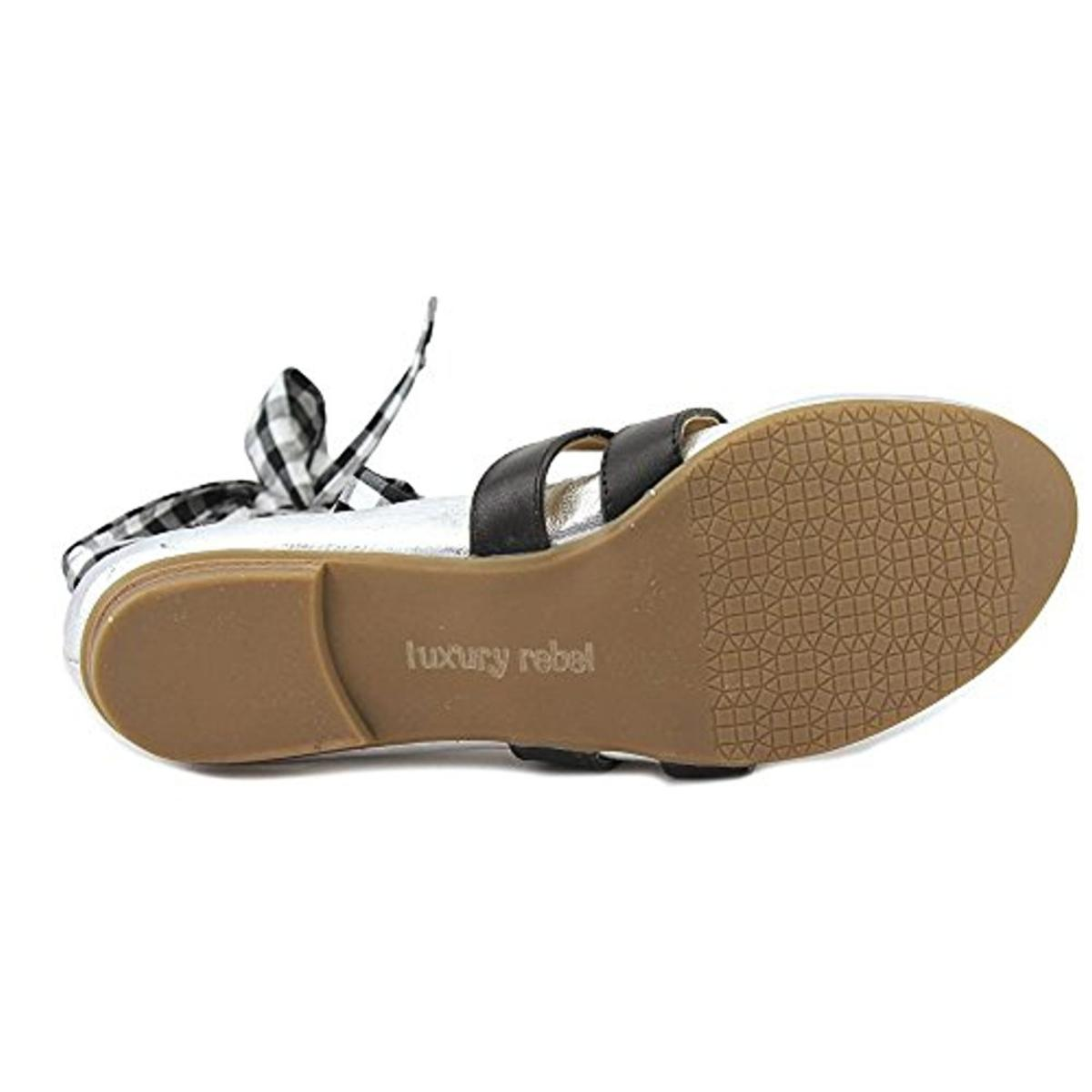 Luxury Rebel 3023 Womens Sari Buckle Strappy Ballet Flats Shoes BHFO