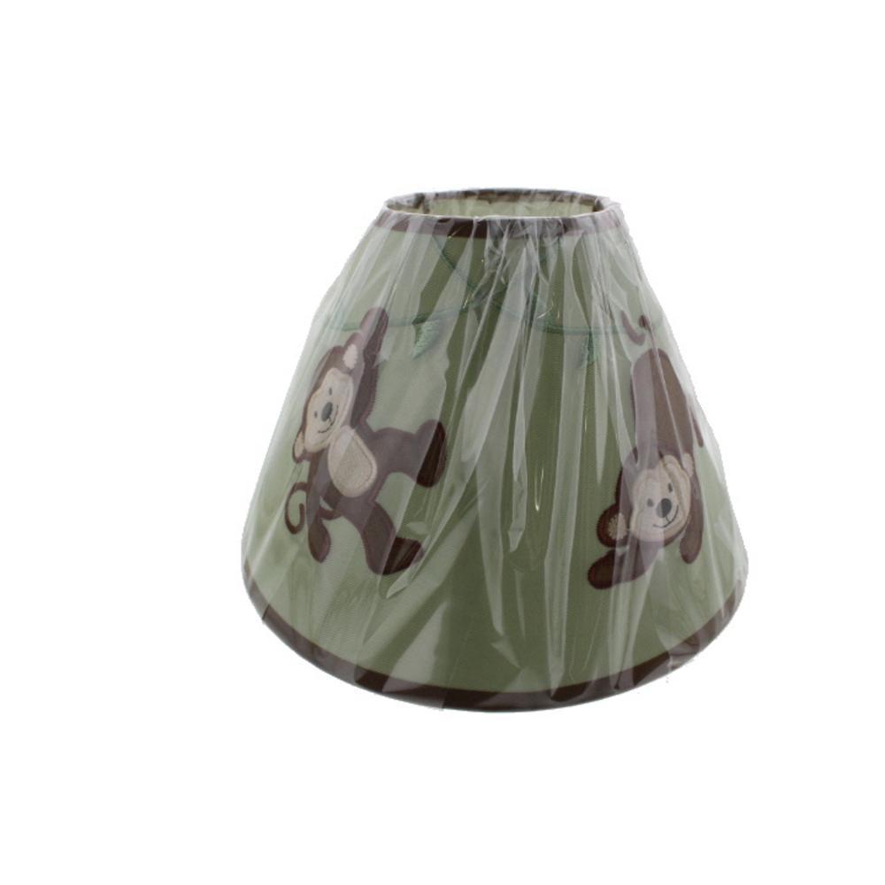 koala baby monkey lamp shade green brown lampshade. Black Bedroom Furniture Sets. Home Design Ideas