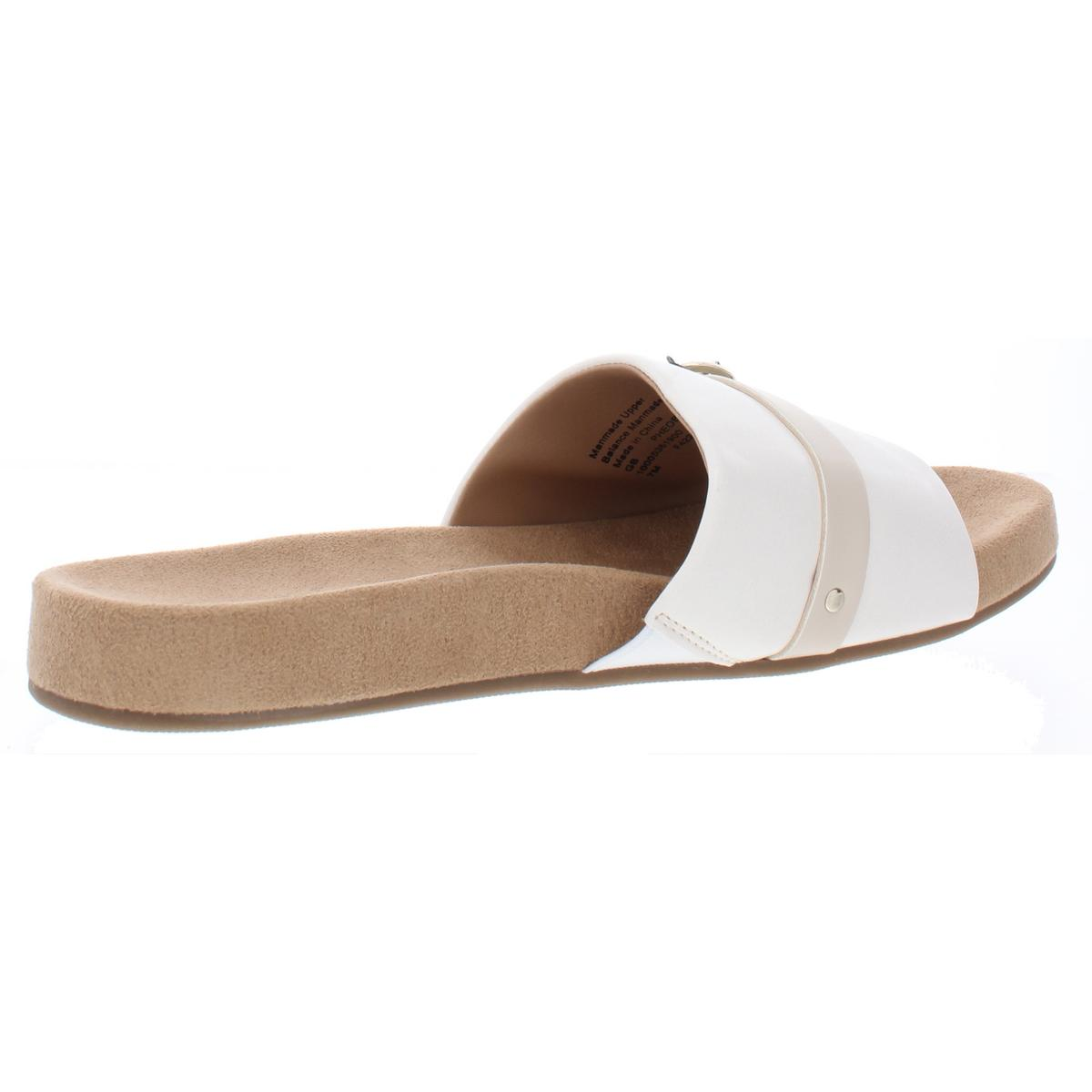 Giani Bernini Womens Pheobee Open Toe Slip On Flat Sandals Shoes BHFO 8960