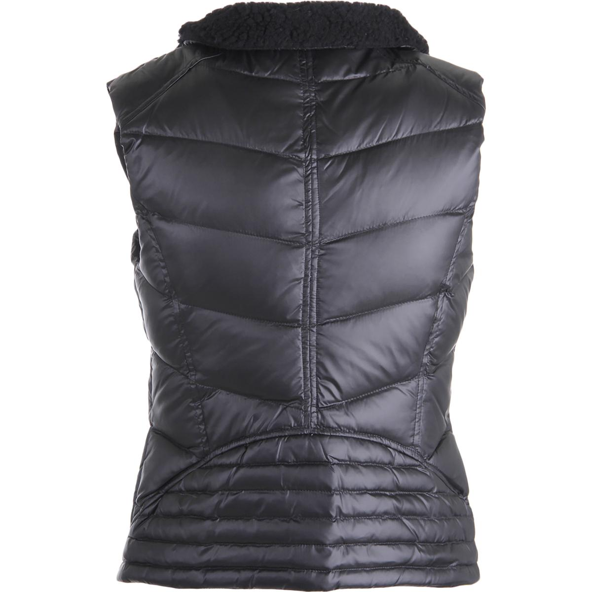 Juicy couture black label 9809 womens shearling puffer for Couture labels