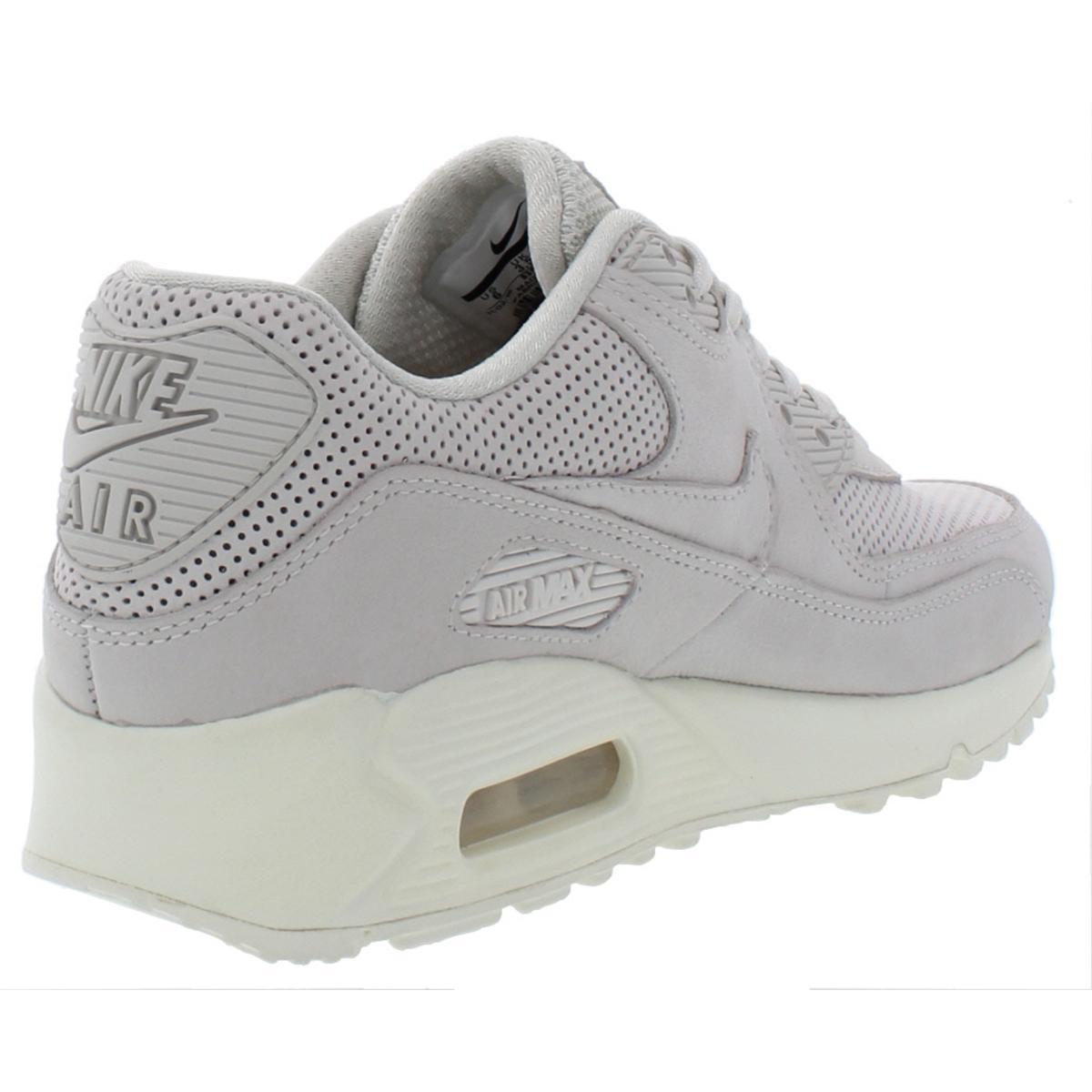 Nike-Womens-Air-Max-90-Pinnacle-Suede-Low-Top-Fashion-Sneakers-Shoes-BHFO-4140 thumbnail 6