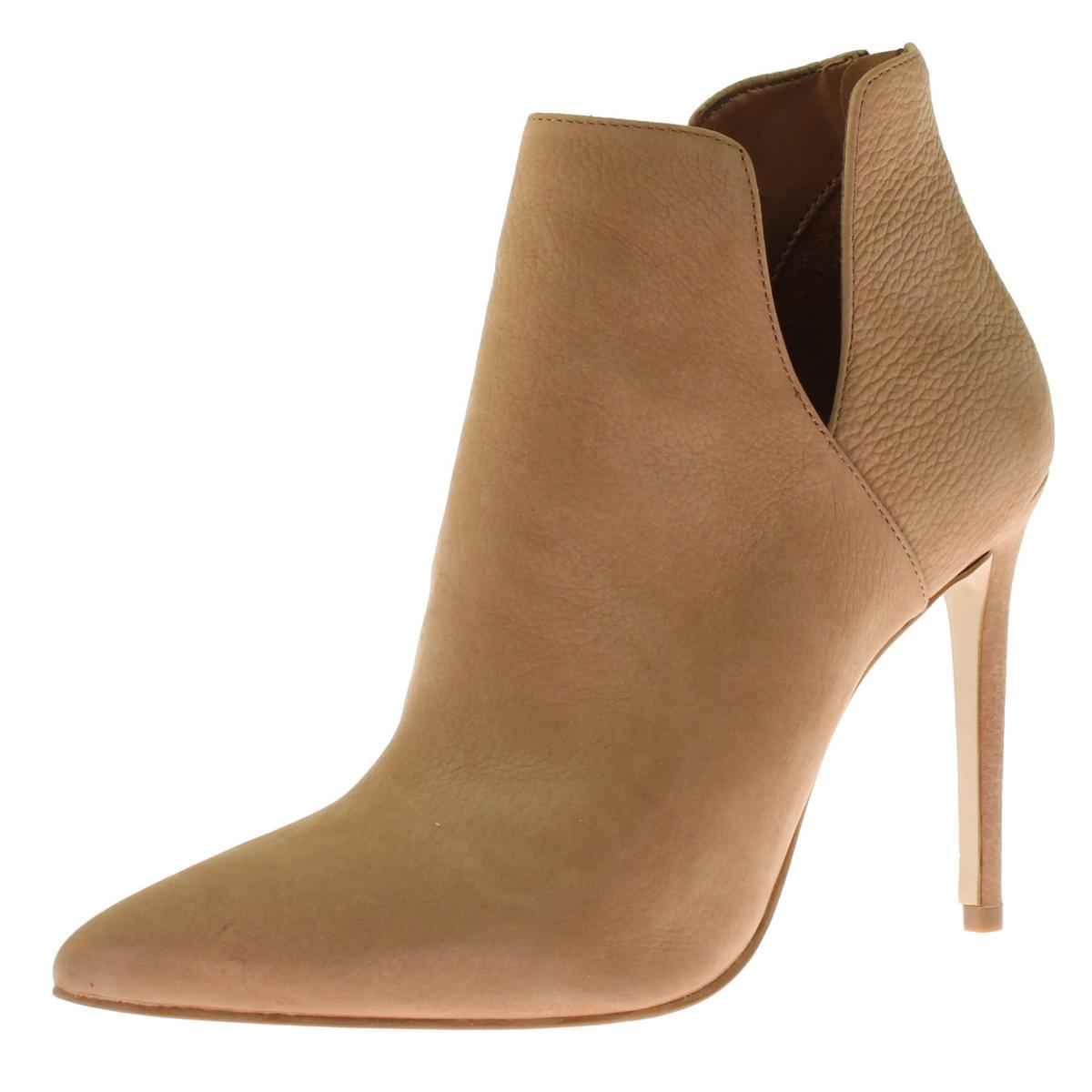 Womens Dip Cut-Out Ankle Boots