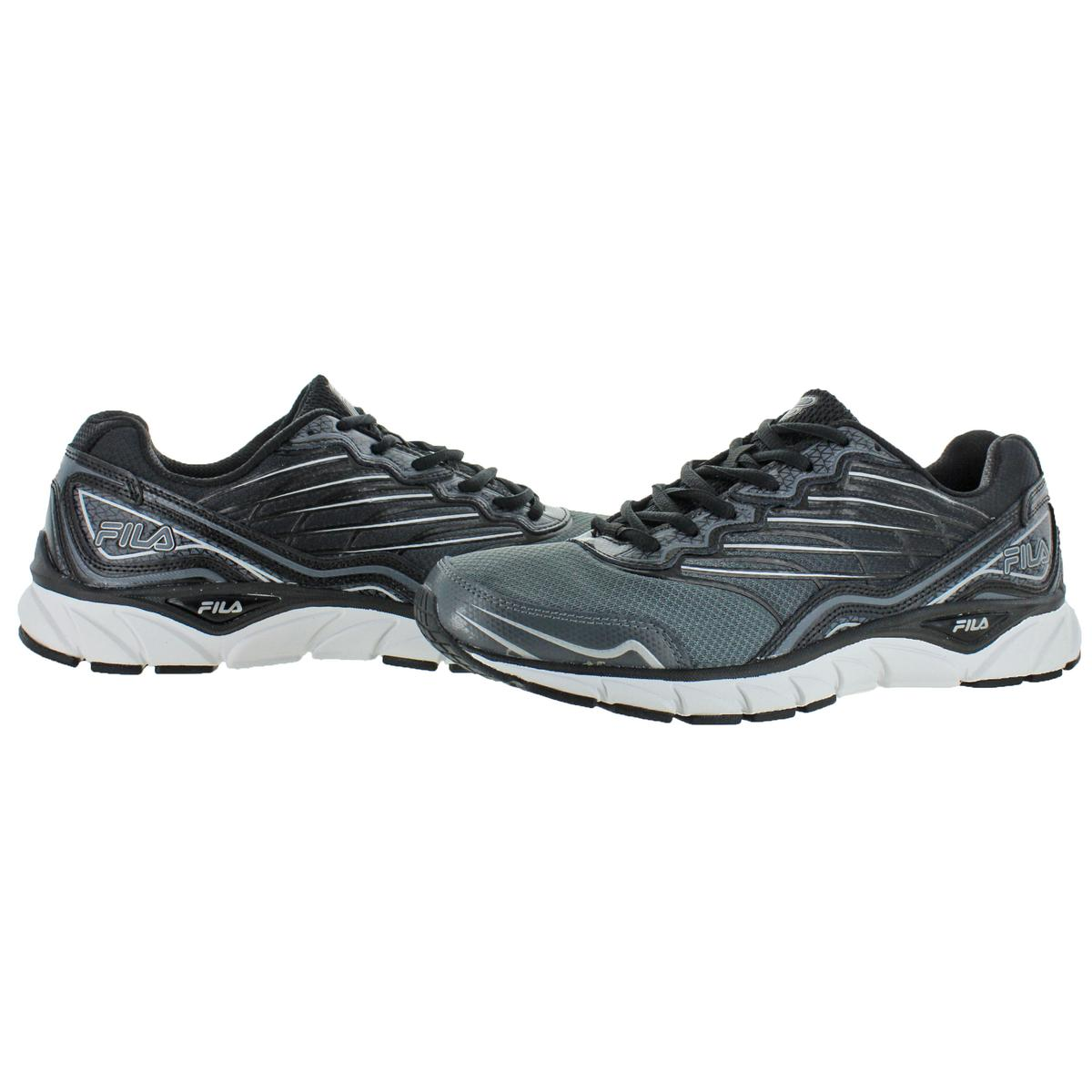 Fila Mens Memory Countdown 3 Black Running Shoes 10.5 Medium (D ... b8e1a44ef