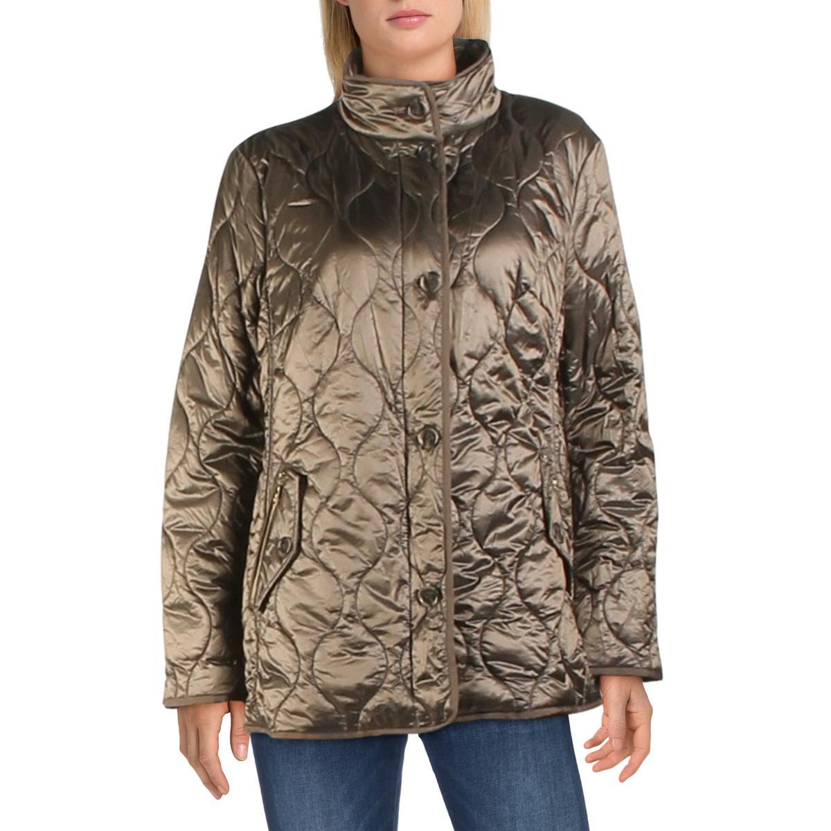Basler Womens Quilted Lightweight Casual Jacket Coat BHFO 7530   eBay