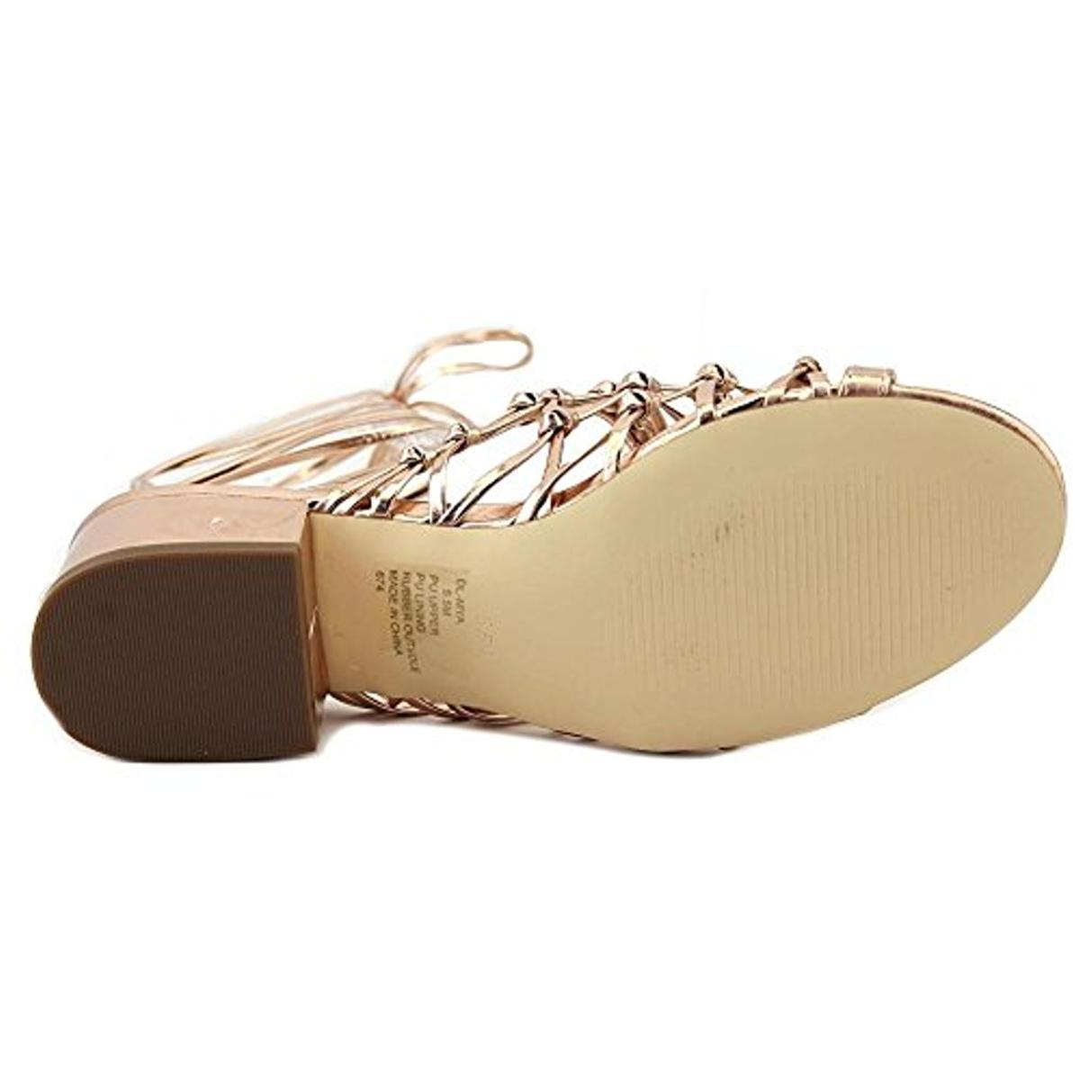 Design-Lab-Womens-Mya-Wrap-Open-Toe-Dress-Heels-Shoes-BHFO-2941 thumbnail 13