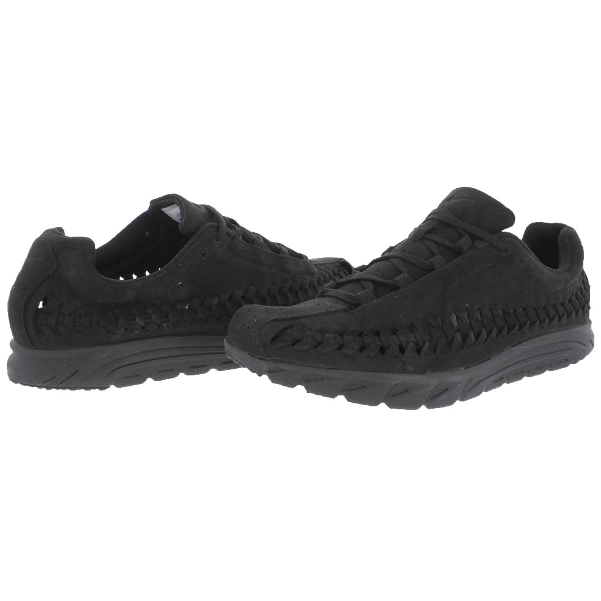 Nike-Mens-Mayfly-Woven-Suede-Woven-Training-Fashion-Sneakers-Shoes-BHFO-2898 thumbnail 4