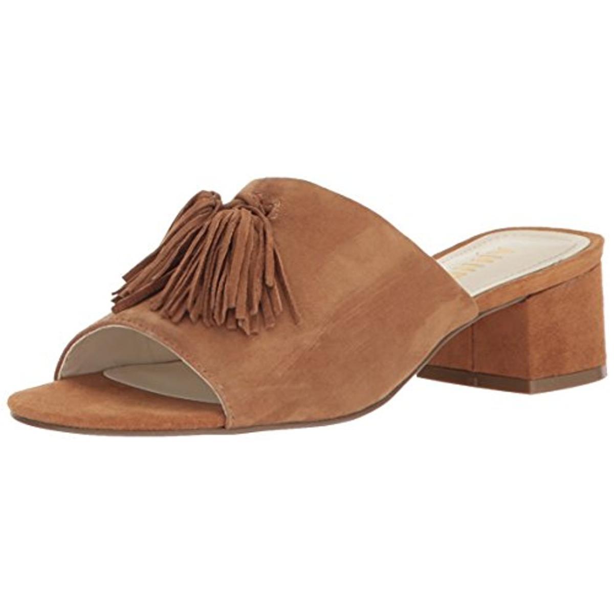 Anne Klein Sport Womens Kandis Pink Slide Sandals Shoes 9 Medium (BM) BHFO 2979