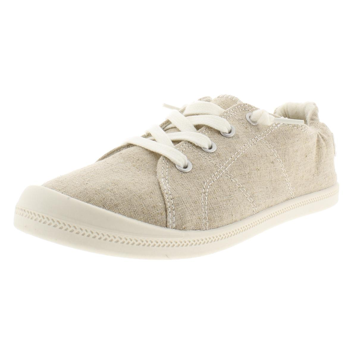 c0140954e5f Material Girl Womens Brooke Canvas Padded Insole Casual Shoes ...