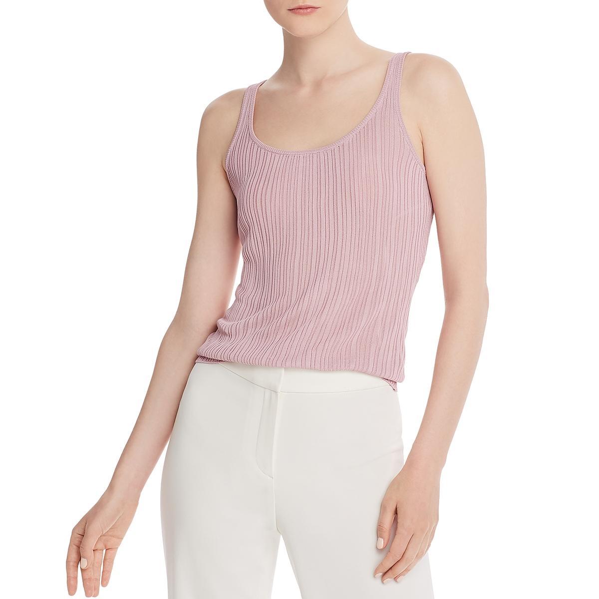 Theory Womens Linen Sleeveless Shell Top Shirt BHFO 6347