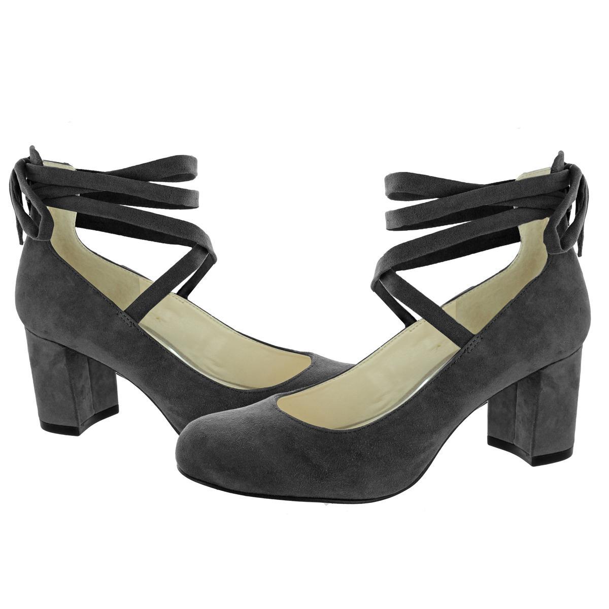 Jessica-Simpson-Venya-Women-039-s-Block-Heel-Lace-Pumps-Dress-Shoes thumbnail 4