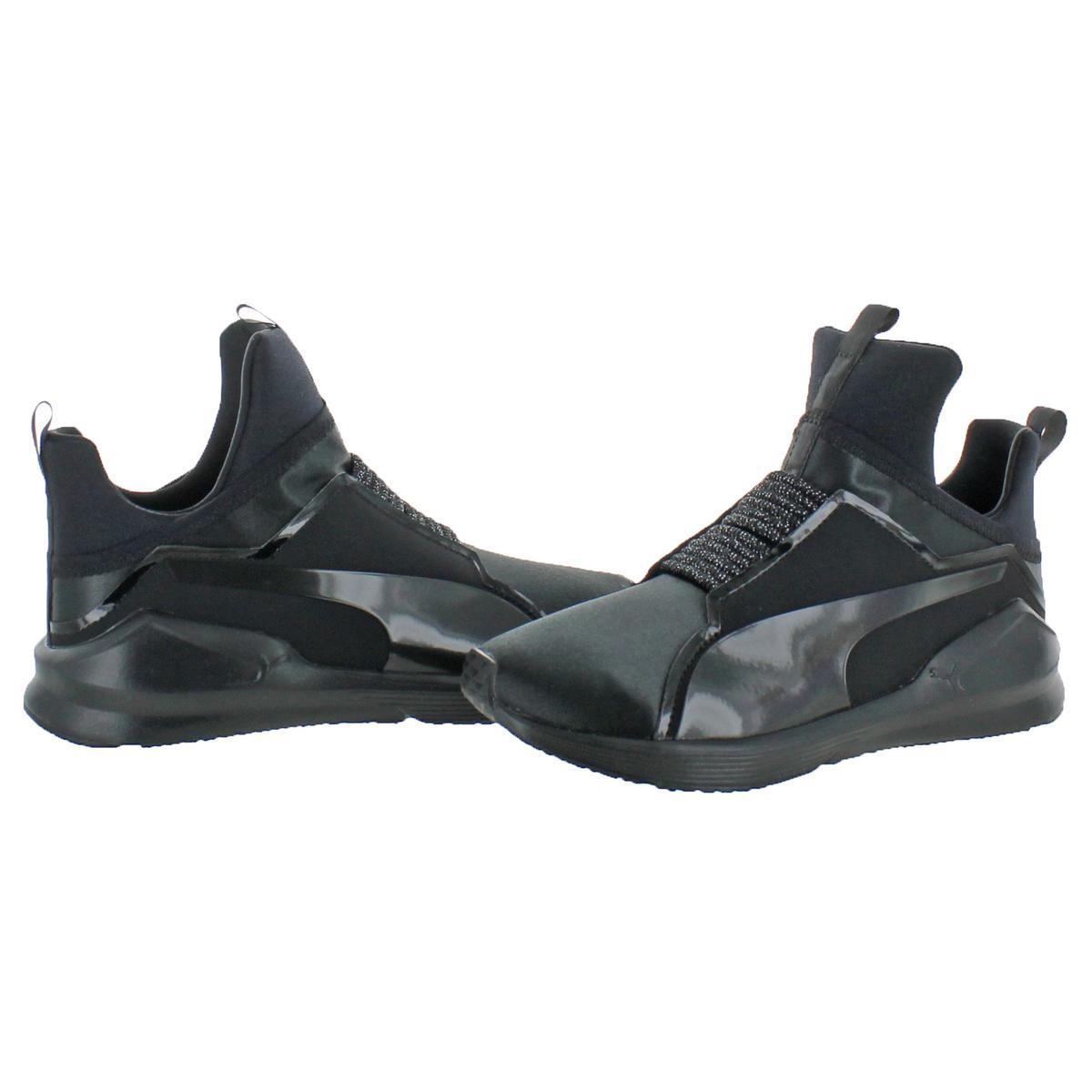 Puma Fierce Satin EP Women s Demi Height Trainer Fashion Sneaker ... 56e6619ea8d4