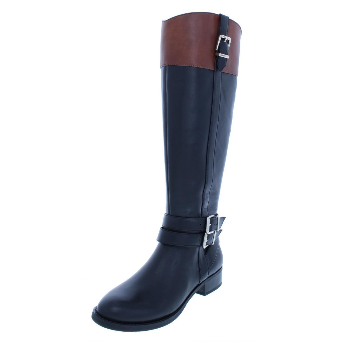 INC Damenschuhe Frank II Leder Wide Calf Over-The-Knee Riding Schuhes Stiefel Schuhes Riding BHFO 5125 b8ec37