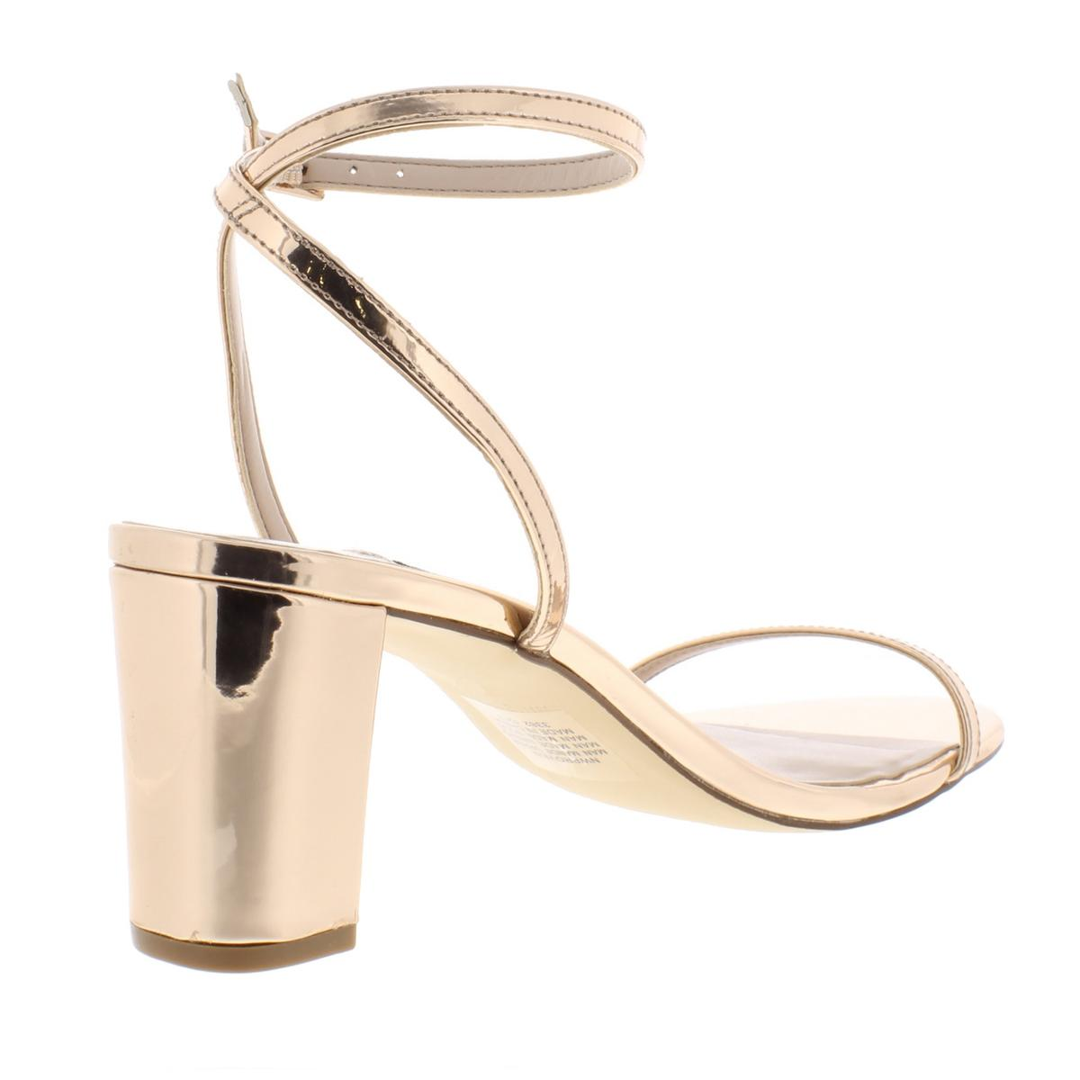 Nine-West-Womens-Provein-Solid-Block-Heel-Dress-Sandals-Shoes-BHFO-5972 thumbnail 8