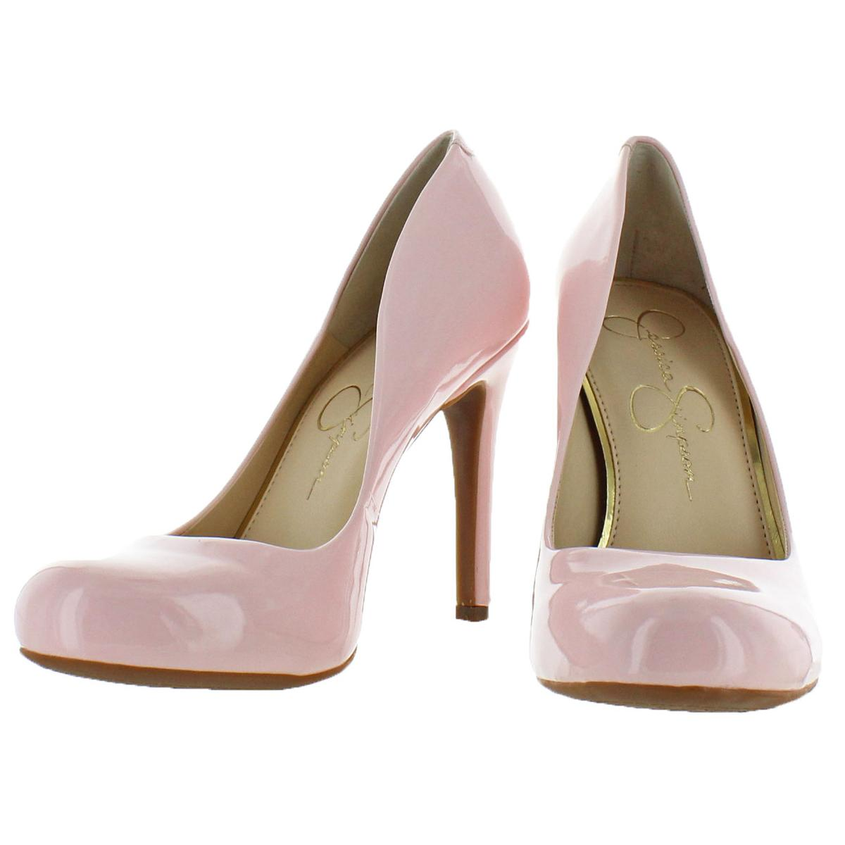 Jessica-Simpson-Women-039-s-Calie-Round-Toe-Classic-Heels-Pumps-Shoes thumbnail 4
