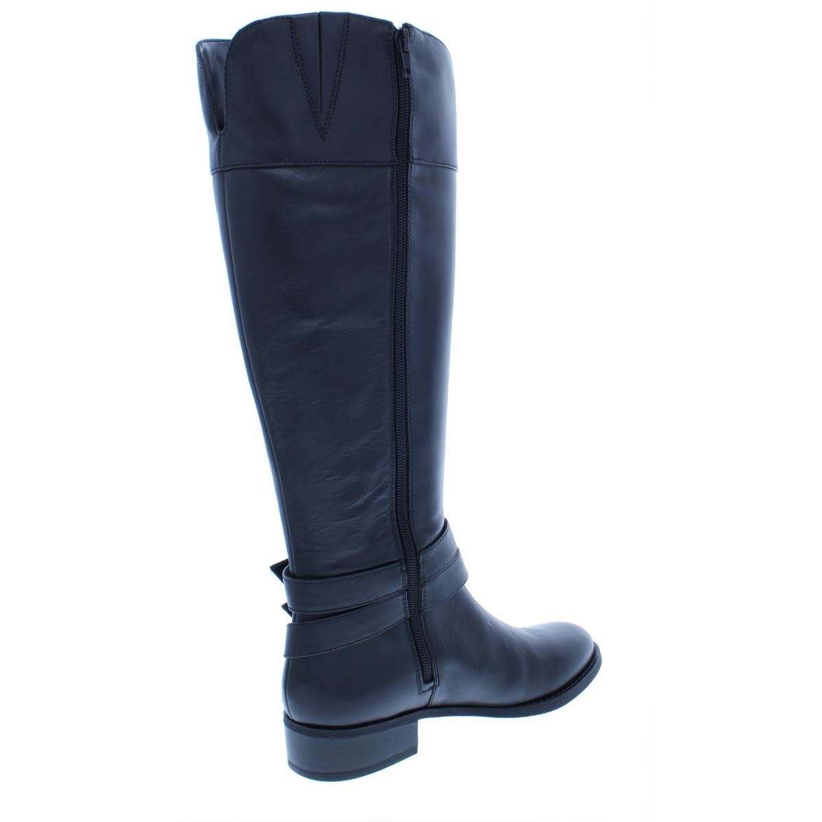 INC-Womens-Frank-II-Leather-Wide-Calf-Knee-High-Riding-Boots-Shoes-BHFO-5125 thumbnail 4