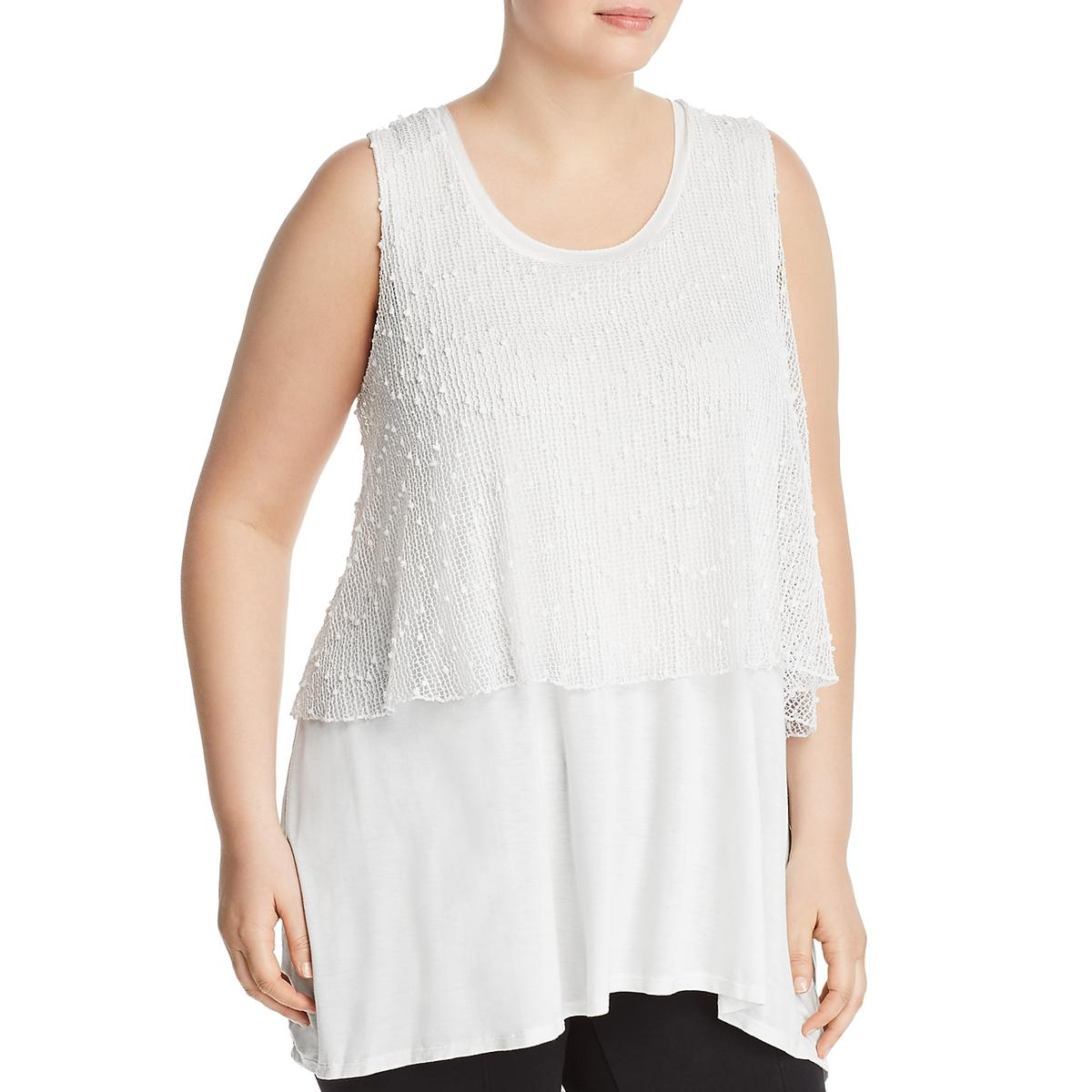 Cupio Womens Sleeveless Mini Hi-Low Tank Dress BHFO 5166