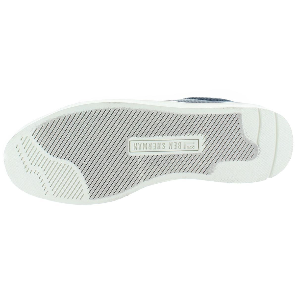 Ben-Sherman-Ashton-Men-039-s-Fashion-Court-Sneakers-Shoes thumbnail 6