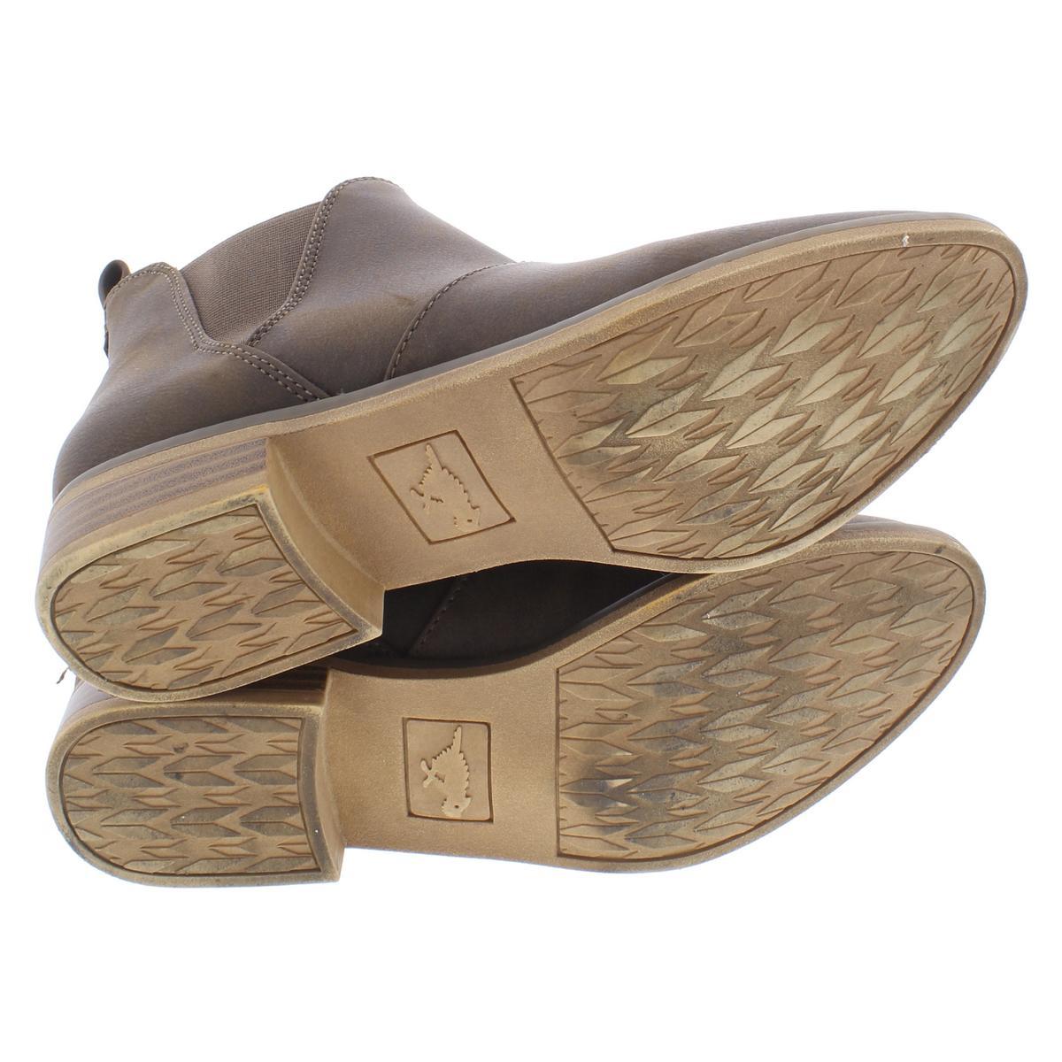 1078c7eeca671 Rocket Dog Womens Maylon Brown Chelsea Boots Shoes 8 Medium (B,M ...