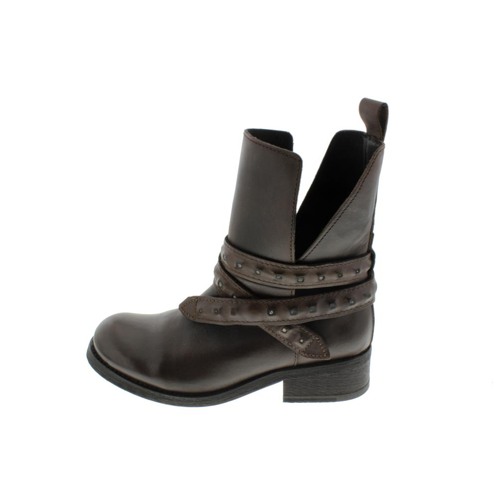 DIESEL Womens Roxy Roll Sashan Leather Ankle Belted ...