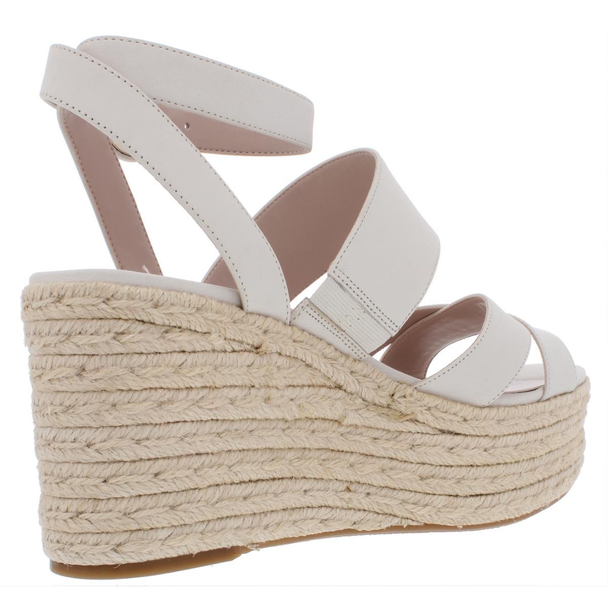 Nine-West-Womens-Kushala-Nubuck-Espadrille-Wedge-Sandals-Shoes-BHFO-7013 thumbnail 8
