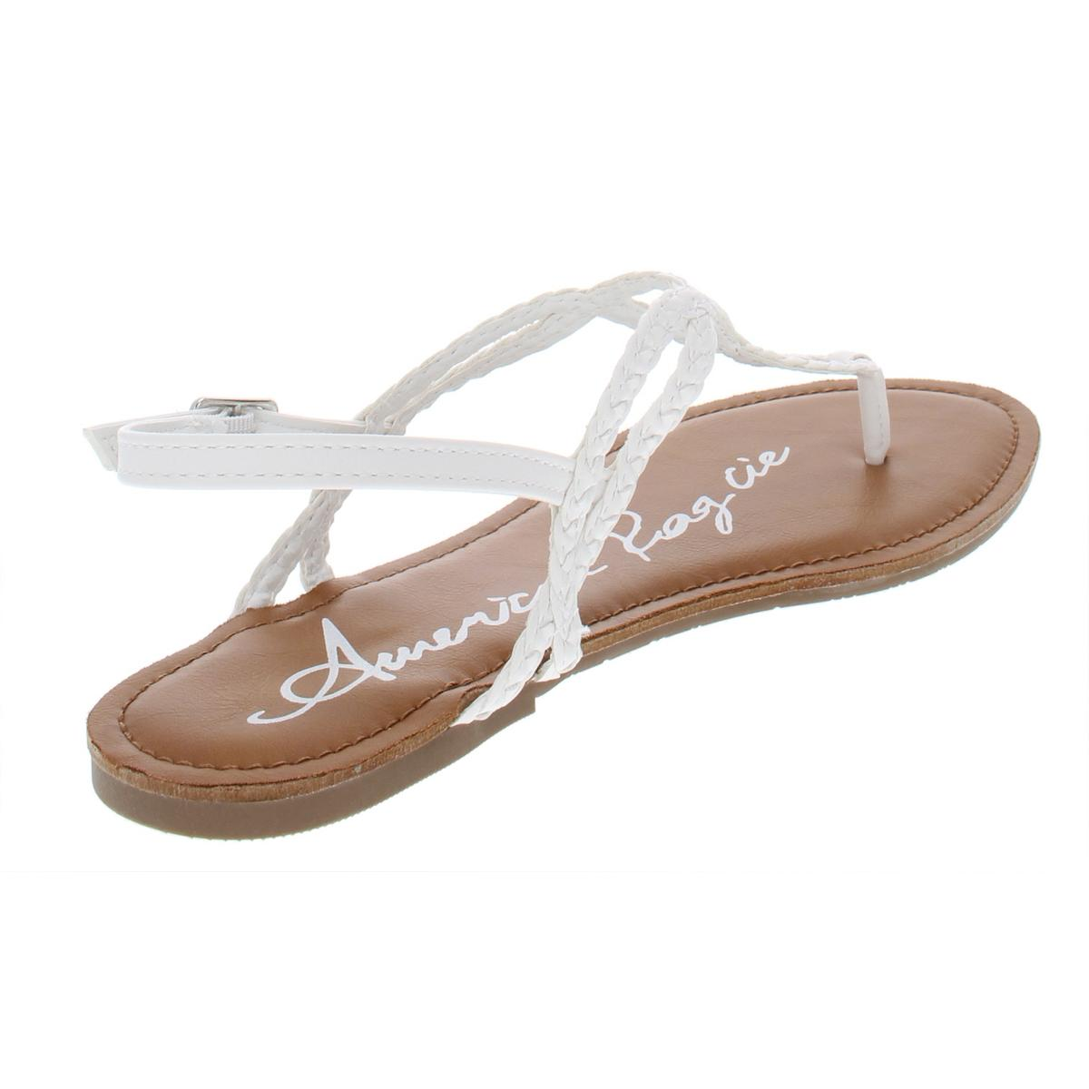 a2af80566d4 American Rag Keira Braided Thong Flat Sandals - White 9 M US for ...