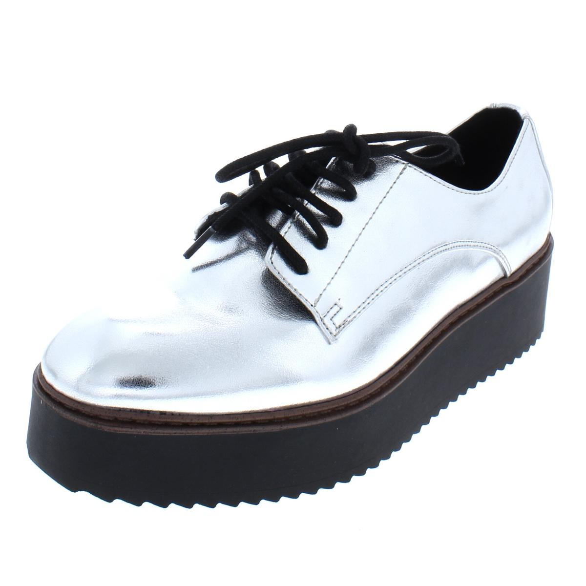e5022603c44a Details about Madden Girl Womens Written Platform Fashion Oxfords Sneakers  BHFO 5135