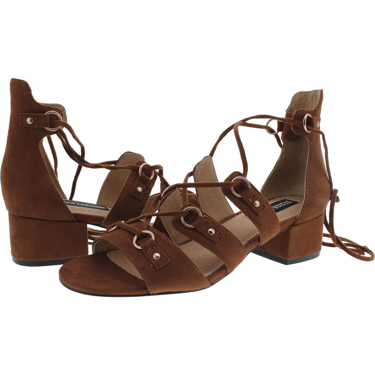 Design-Lab-Womens-Eldy-Block-Heel-Dress-Sandals-Shoes-BHFO-2676 thumbnail 9