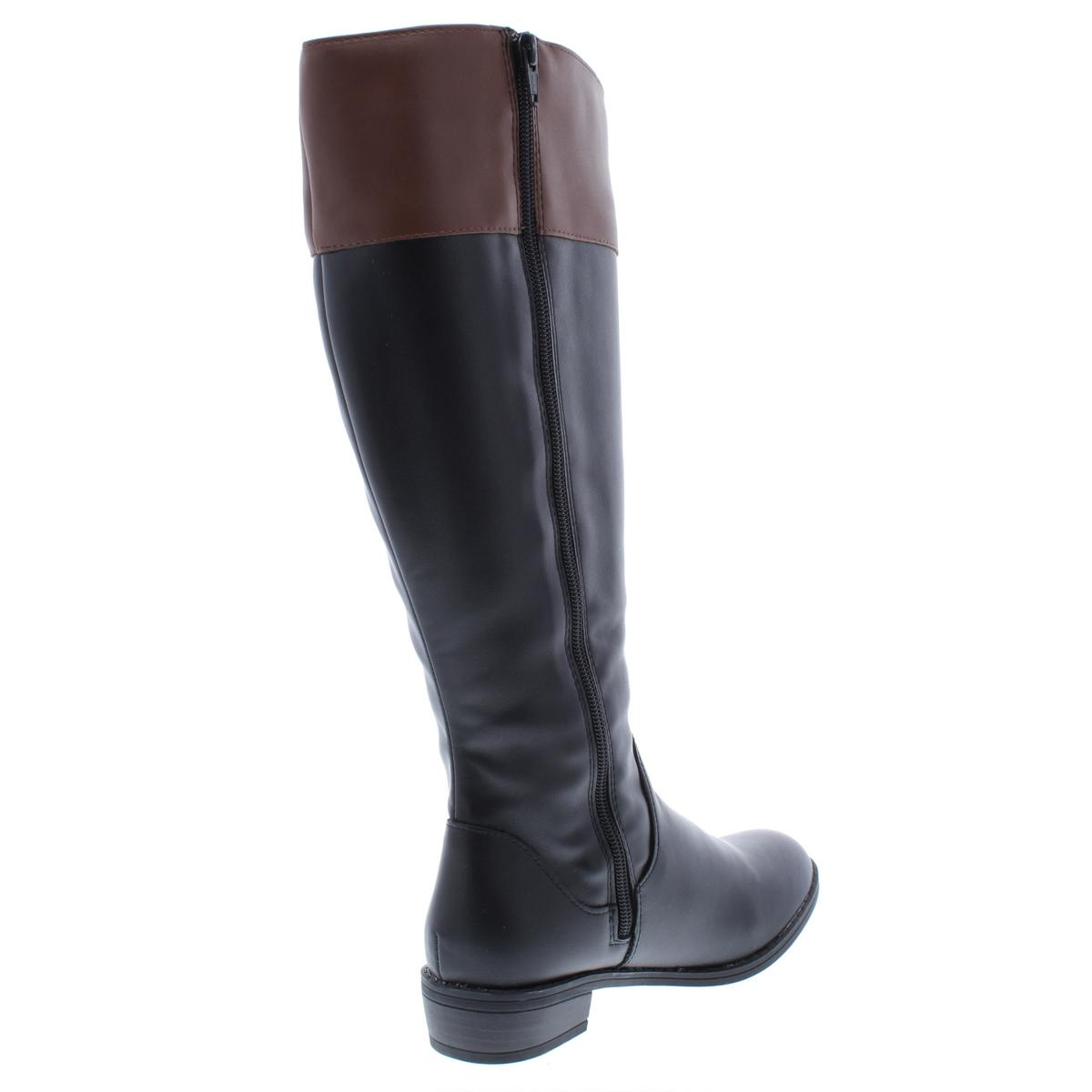 Karen-Scott-Womens-DelieeWC-Wide-Calf-Over-The-Knee-Riding-Boots-Shoes-BHFO-5181 thumbnail 6
