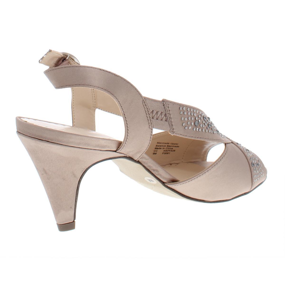 Charter-Club-Womens-Haffair-Satin-Heels-Dress-Sandals-Evening-BHFO-6807 thumbnail 4