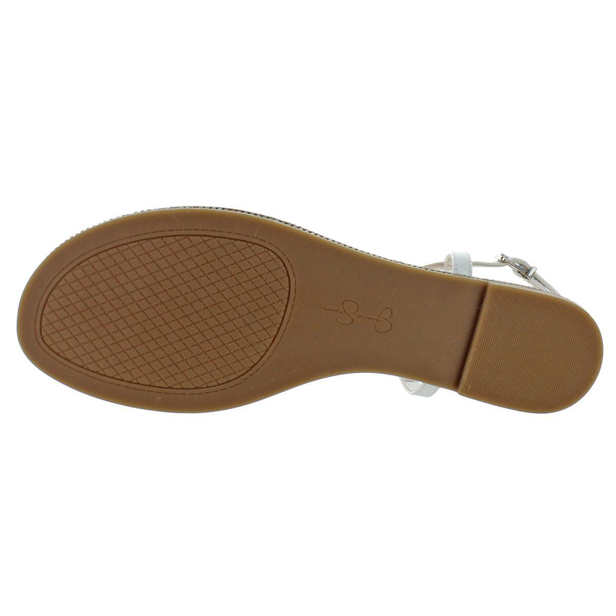 Jessica-Simpson-Femme-Brimah-Casual-String-Spartiates-Chaussures-BHFO-1194 miniature 3