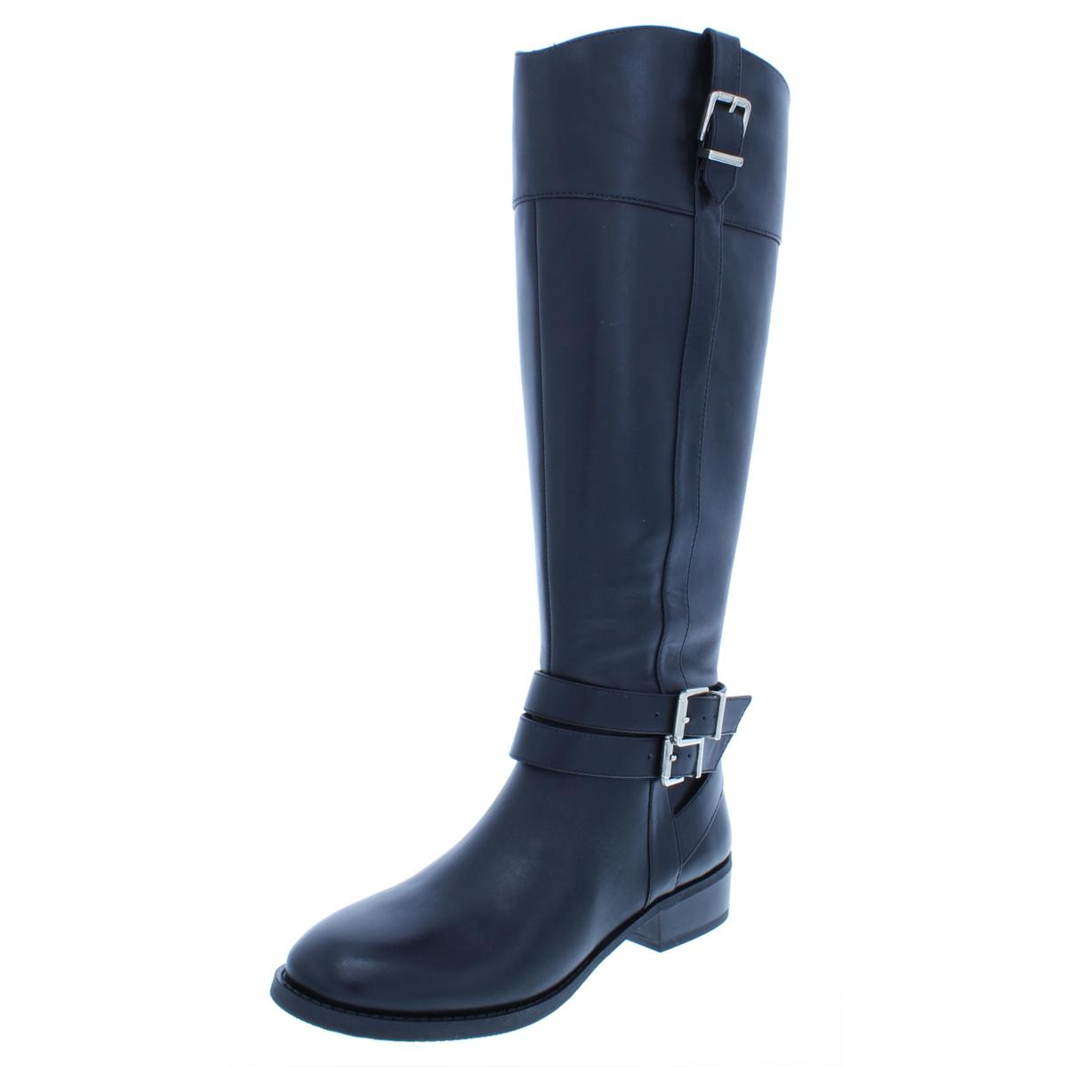 I35 Frankii Wide Calf Riding Stiefel 7 644 schwarz 7 Stiefel US     947b50