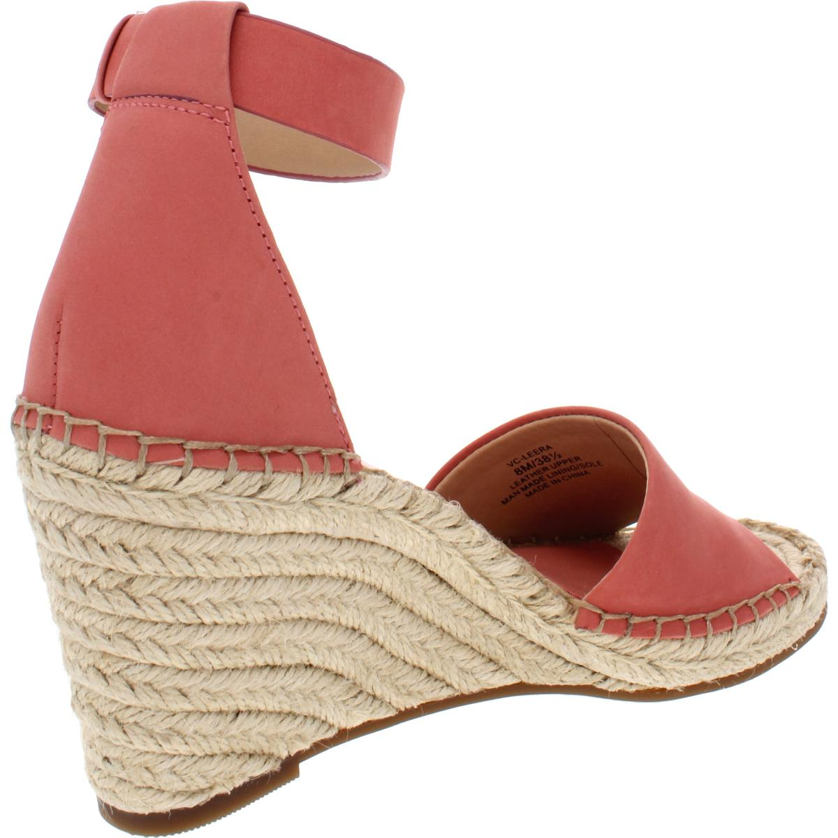489470fd122 Vince Camuto Womens Wedge HEELS Fancy Flamingo Nubuck Leather ...