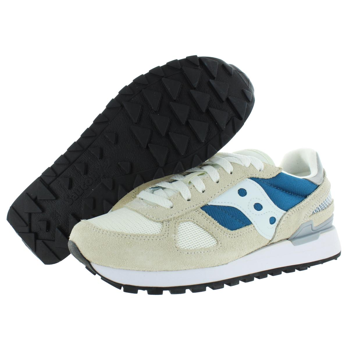 Saucony-Mens-Shadow-Original-Trainers-Suede-Comfort-Sneakers-Shoes-BHFO-0431 miniatuur 11