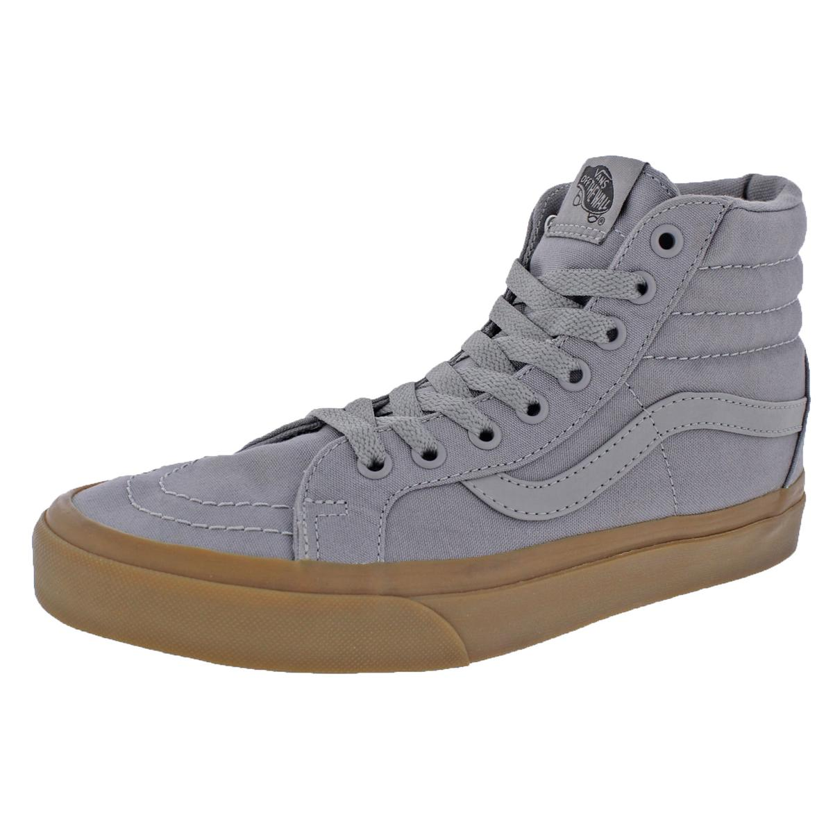f7fa3fe6af Details about Vans Womens SK8-Hi Reissue Gray Skate Shoes Sneakers 8.5  Medium (B