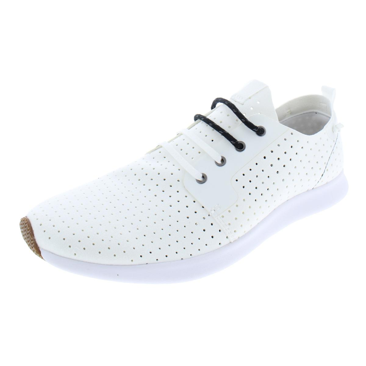 db066abeb3c Details about Steve Madden Mens Brick White Fashion Sneakers Shoes 9 Medium  (D) BHFO 6778