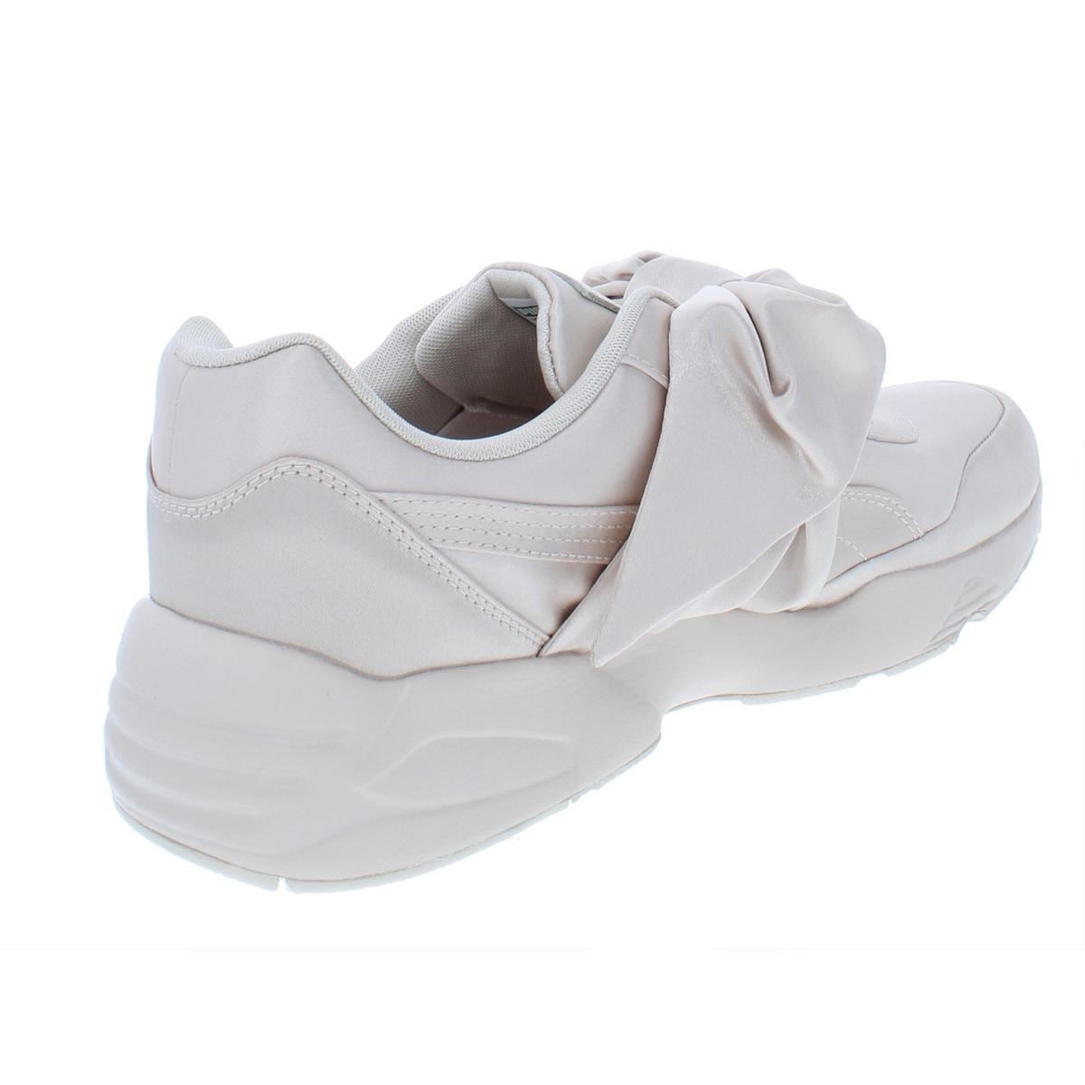 Fenty Puma by Rihanna Womens Bow Sneaker Satin Fashion Sneakers ... 56e5f2d28