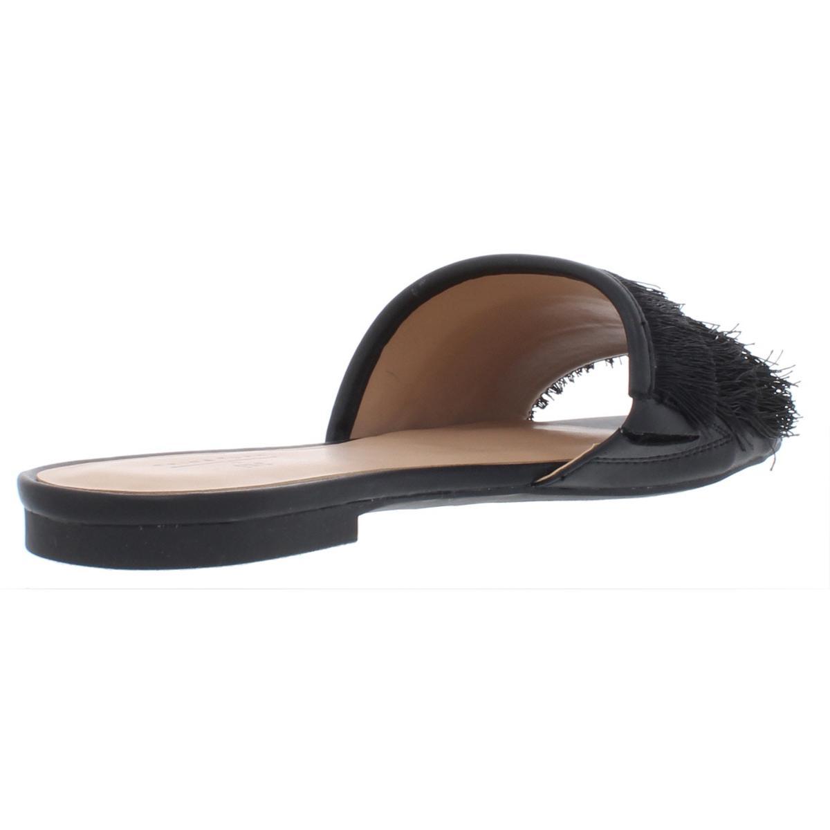 INC-Womens-Maira-Satin-Slides-Embroidered-Flats-Sandals-BHFO-6355 thumbnail 4