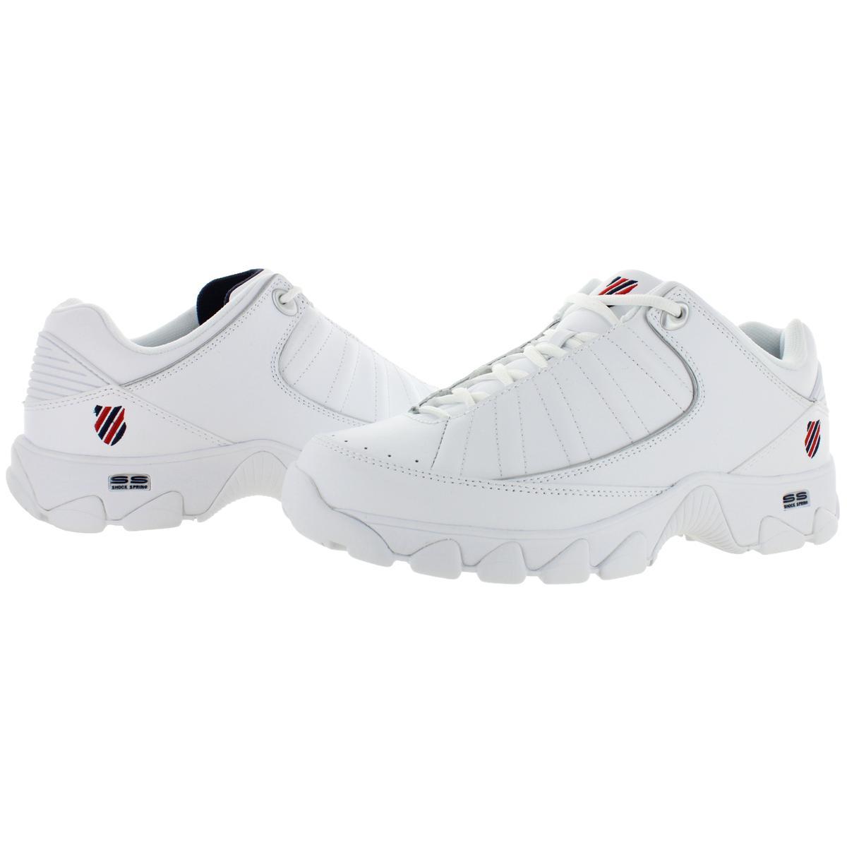 K-Swiss-Men-039-s-ST529-Heritage-Leather-Fashion-Sneakers-Shoes miniatuur 6