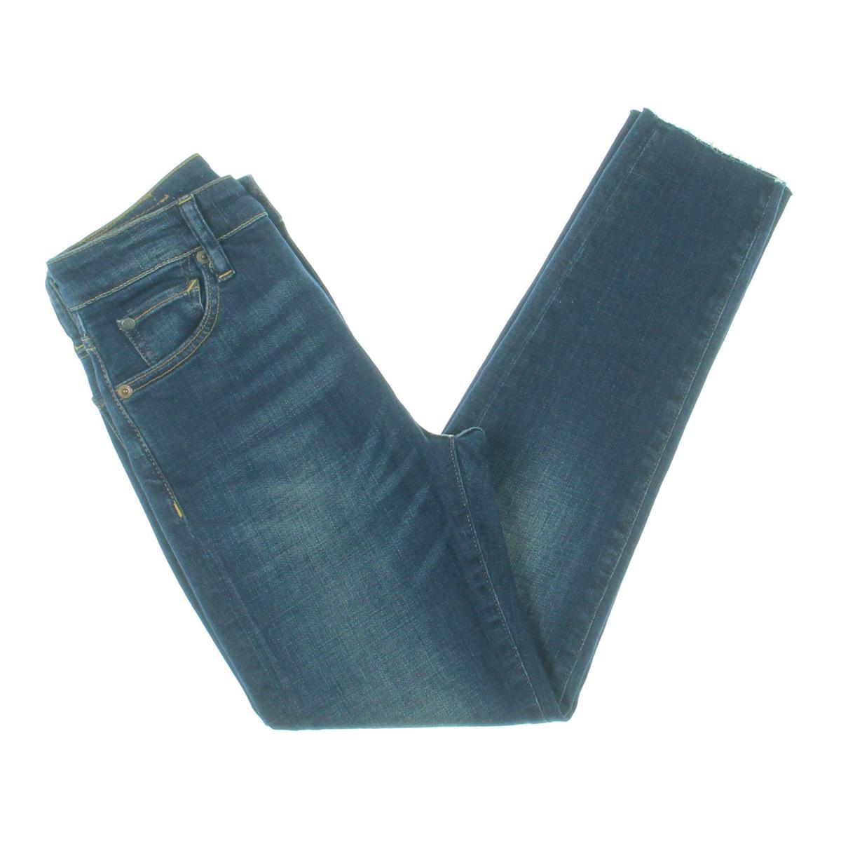 Denim & Supply Ralph Lauren Womens bluee Cropped Skinny Jeans 28 BHFO 2830
