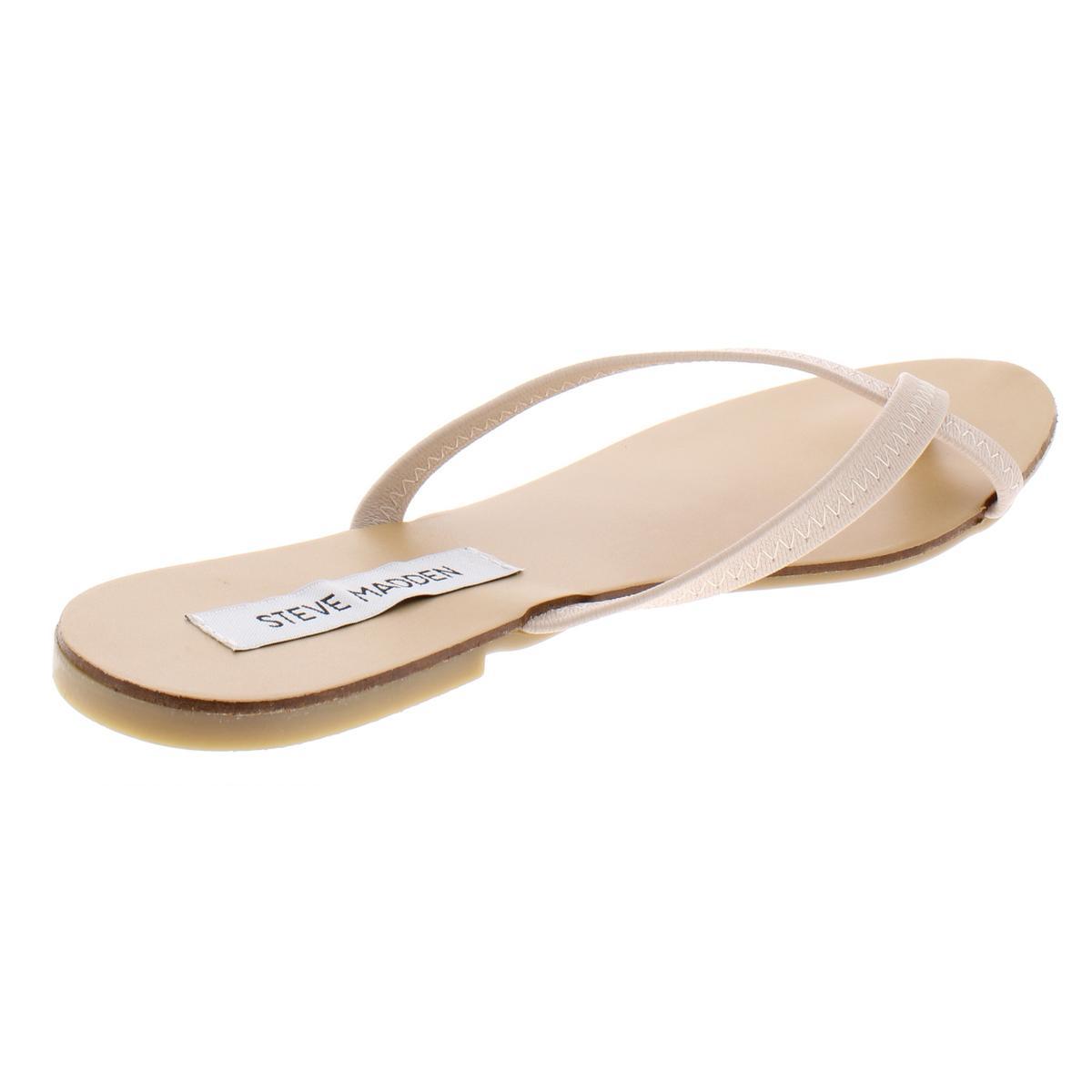 Steve-Madden-Womens-Coast-Toe-Loop-Stretch-Flats-Flip-Flops-Sandals-BHFO-0849 thumbnail 8