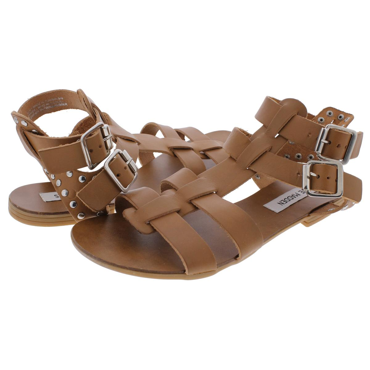 Steve-Madden-Womens-Lucy-Open-Toe-Studded-Strappy-Dress-Sandals-Shoes-BHFO-1682 thumbnail 10