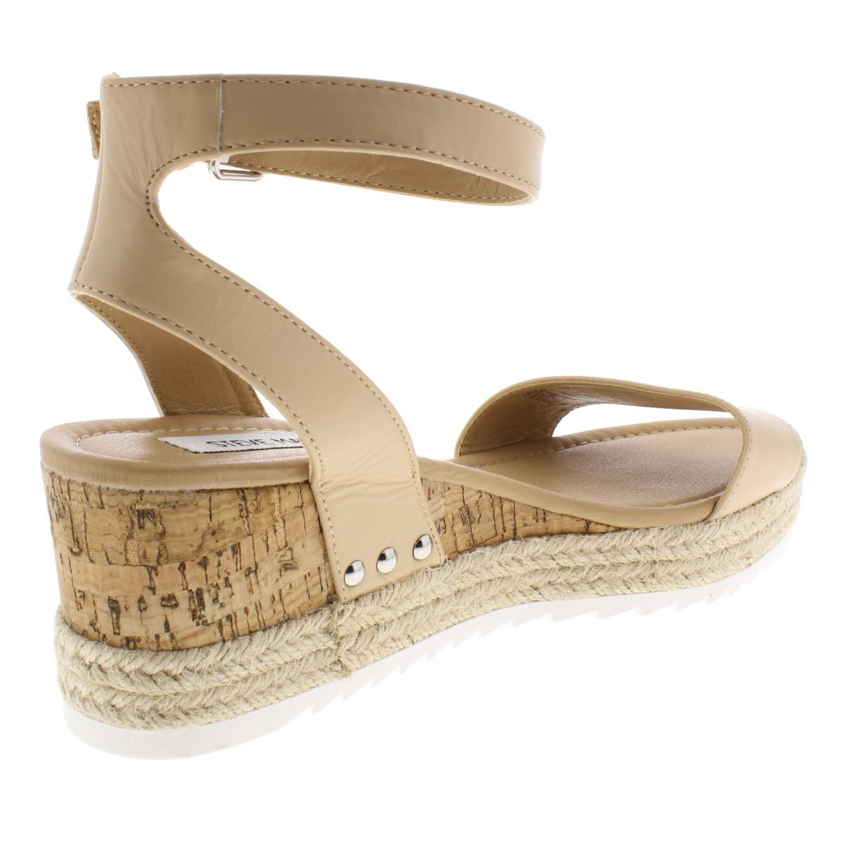 20fd6e57be Steve Madden Womens Jaide Tan Espadrilles Sandals 9 Medium (b M ...