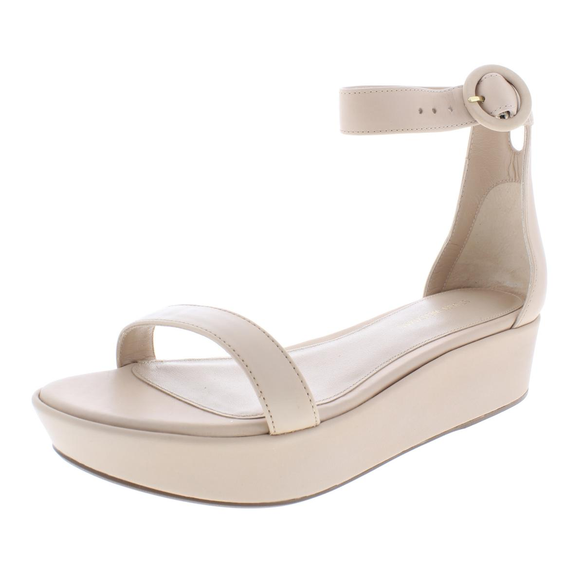 0af5ae642f68 Details about Stuart Weitzman Womens Capri Pink Platform Sandals 6 Medium  (B