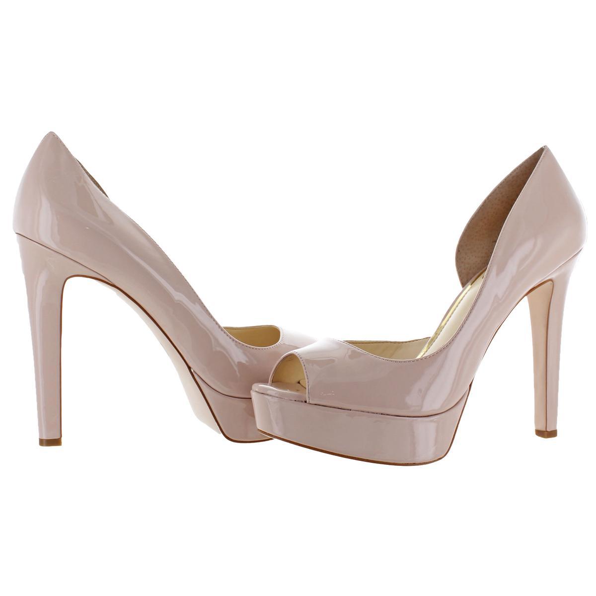 Jessica-Simpson-Martella-Women-039-s-Almond-Peep-Toe-Stiletto-d-039-Orsay-Heels-Shoes thumbnail 4