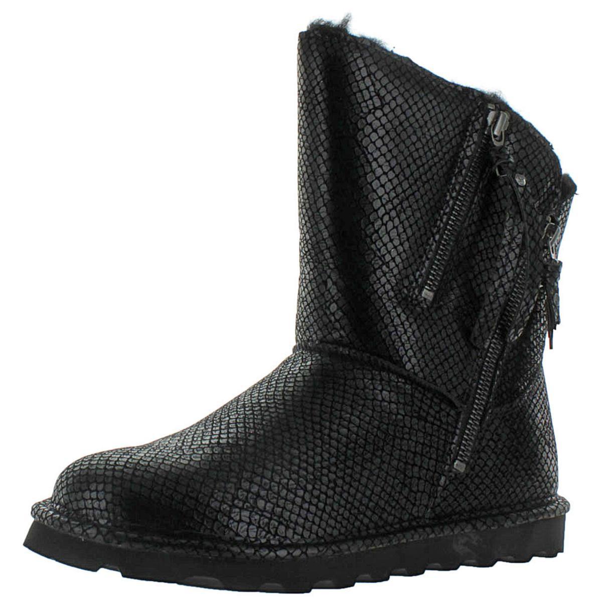 Bearpaw-Mimi-Women-039-s-Short-Sheepskin-Boots-Water-Resistant