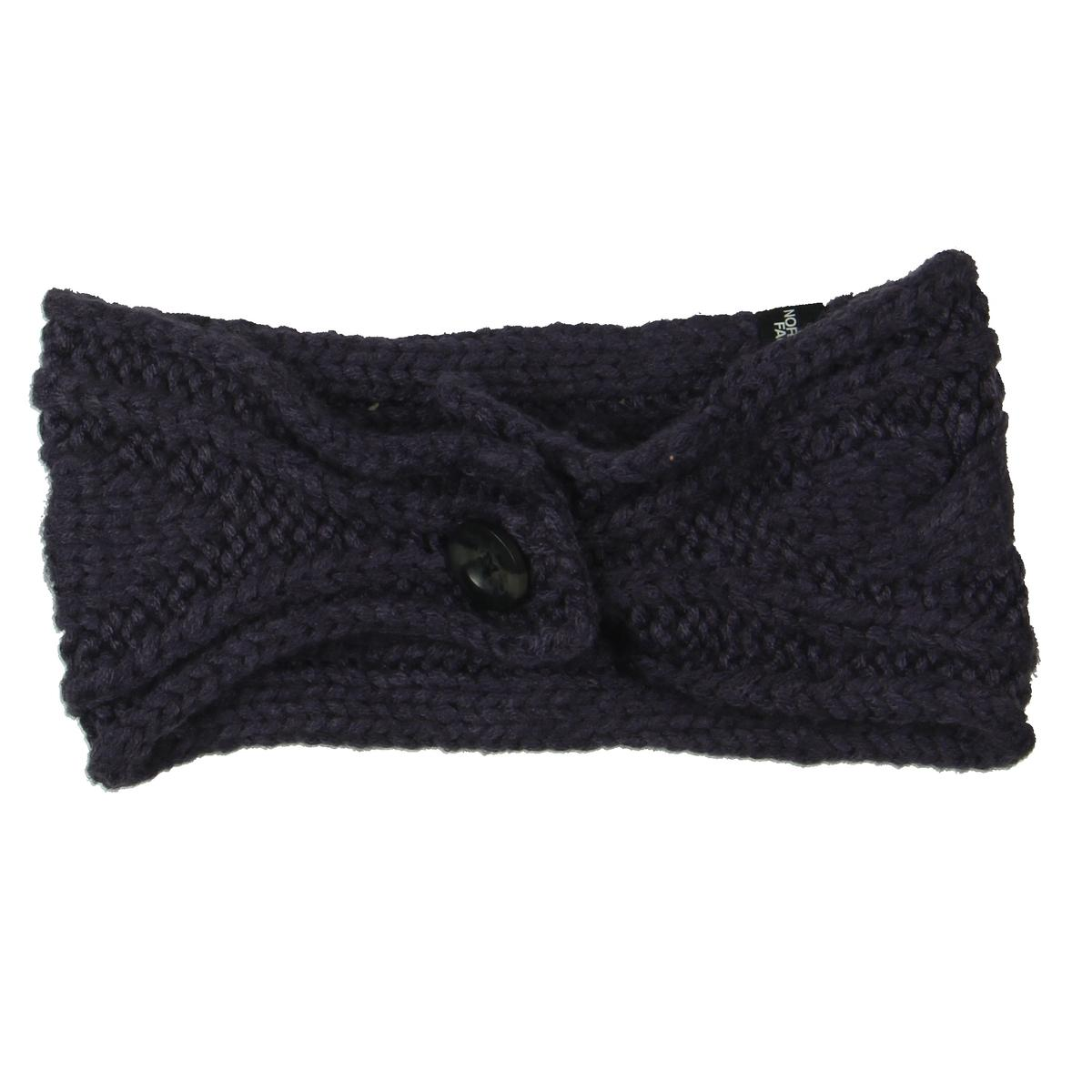 937f28b58c87f Details about The North Face Womens Chunky Purple Cable Knit Winter Ear  Warmers O S BHFO 3559